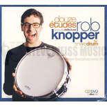 knopper-delecluse: 12 etudes for snare drum (cd/dvd)