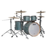 """ludwig signet terabeat  4 piece shell pack with 22"""" bass drum"""