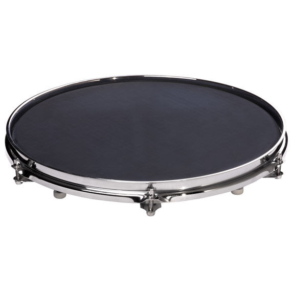 sabian quiet tone 14 mesh drum mute and practice pad drum mute muffle drum pads drum. Black Bedroom Furniture Sets. Home Design Ideas