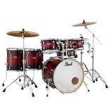 "pearl decade maple 7 piece shell pack with 22"" bass drum"
