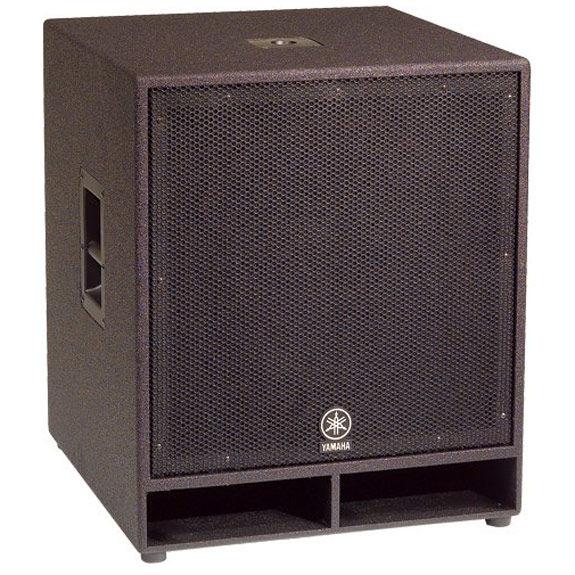 Yamaha cw118v 18 club concert series subwoofer speaker for Yamaha speakers system