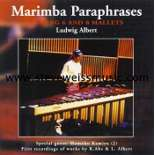albert-marimba paraphrases (cd)