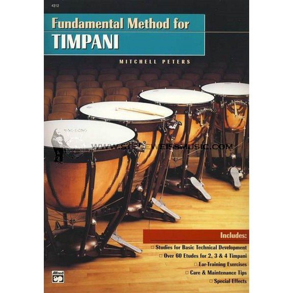 Fundamental Method for Timpani Mitchell Peters