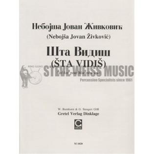 zivkovic-sta vidis (marimba solo)-m/vx