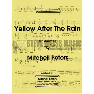peters-yellow after the rain-m