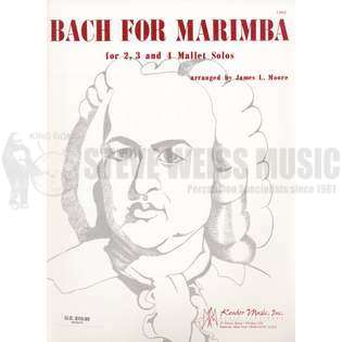 bach-bach for marimba arr. moore-m