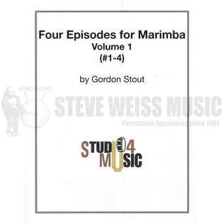 stout-four episodes for solo marimba-m