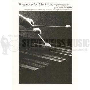serry-night rhapsody for marimba-m