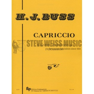 Buss-Capriccio-P/T/B/CL/TN | Mixed Chamber Ens. | Sheet Music ...