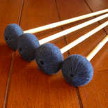 a.putnam vibe mallets (vbt2) rattan med hard...set of four