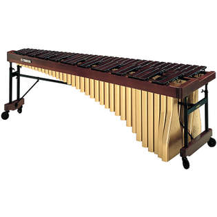 yamaha 5 octave professional rosewood marimba