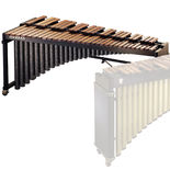 musser 4.3 deluxe studio grand rosewood marimba (m245)