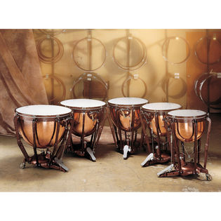 ludwig professional smooth copper timpani