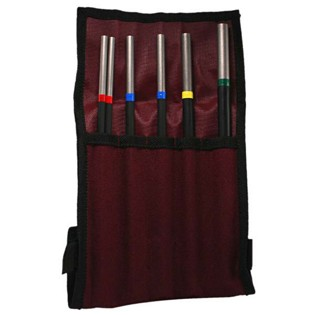 grover deluxe tubular triangle beater set w/ case (tbtd)