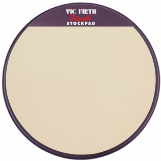 vic firth heavy hitter stock pad marching snare practice pad