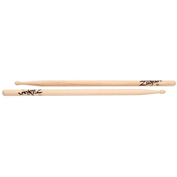 zildjian 5a wood natural drumsticks drumsticks drum set latin steve weiss music. Black Bedroom Furniture Sets. Home Design Ideas