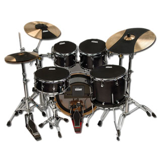 evans hq soundoff mutes drum mute muffle drum pads drum muffles steve weiss music. Black Bedroom Furniture Sets. Home Design Ideas