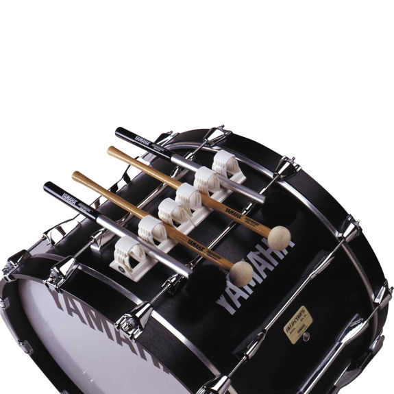yamaha bass drum mallet holder mbmh 2 marching bass drum accessories marching accessories
