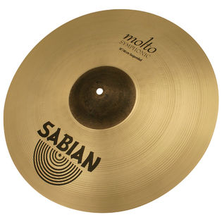 sabian 18&quot; aa molto symphonic suspended cymbal