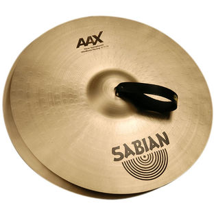 "sabian 20"" aax new symphonic medium heavy cymbals"