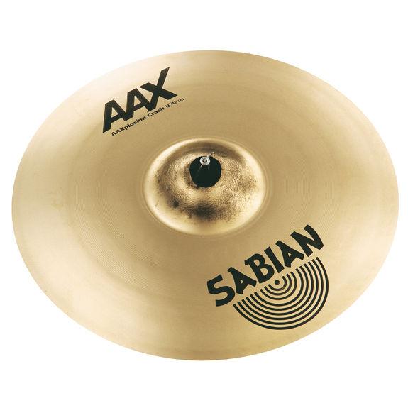 sabian 18 aax x plosion crash cymbal crash cymbals steve weiss music. Black Bedroom Furniture Sets. Home Design Ideas