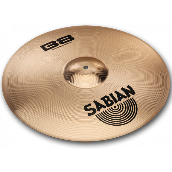 sabian 18 b8 medium crash cymbal crash cymbals steve weiss music. Black Bedroom Furniture Sets. Home Design Ideas