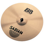 "sabian 18"" b8 rock crash cymbal"