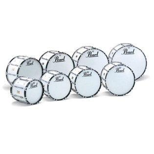 pearl championship series marching bass drum