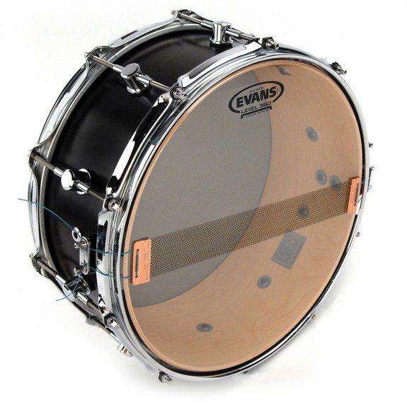 evans hazy 300 snare side drum head snare side drum heads steve weiss music. Black Bedroom Furniture Sets. Home Design Ideas