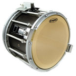 evans mx5 snare side marching drum head