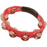 lp cyclops tambourine - red w/ steel jingles (lp151)