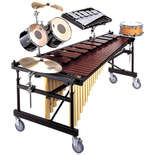 yamaha 4.3 octave acoustalon marimba w/ m. frame ii