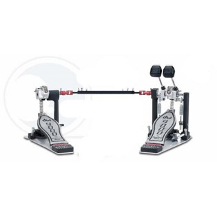 dw 9002pc infinite cam double bass drum pedal (9002pc)