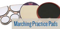 Marching Practice Pads.