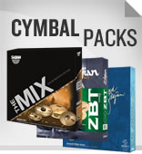 Cymbal Packs and Box Sets.