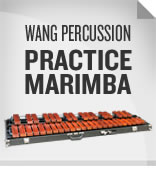 Wang Percussion 3.3 Octave Padouk Practice Marimba